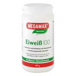 EIWEISS 100 Erdbeer Megamax Pulver 400 g