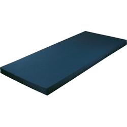 Jugendmatratze, Breckle, 9 cm hoch blau 90 cm x 190 cm x 9 cm