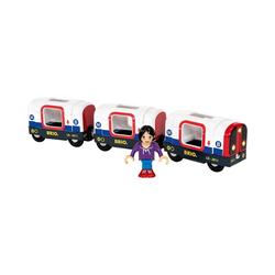 BRIO® Spielzeug-Eisenbahn U-Bahn mit Licht und Sound