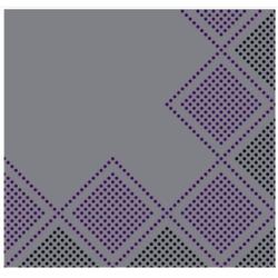 Tork LinStyle ® Dinnerservietten, 40 x 40 cm, 1-lagig, 1/4 Falz, Industrial Oxford, 1 Karton = 12 x 50 = 600 Stück