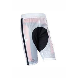 prolog cycling wear Regenhose zum schnellen Überziehen weiß M