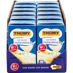 Thomy Les Sauce Hollandaise 250 ml, 12er Pack