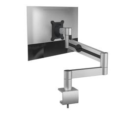 DURABLE MONITOR Wandhalterung, (Durable 508323 Monitor Halterung mit Tischklemme, flexibler Schwenkarm 360° drehbar, für VESA Bildschirme 21-27
