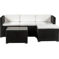 ArtLife Punta Cana M Lounge-Set schwarz/creme