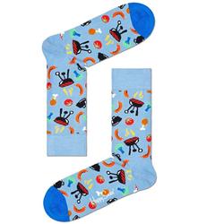Happy Socks Socken Barbecue mit farbigen Grill Motiven 41-46
