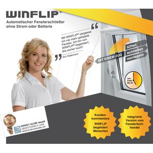 WINFLIP - Automatischer Fensterschließer Winflip