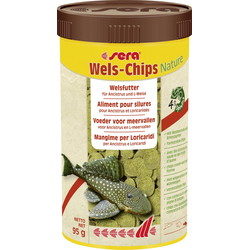 Sera Fischfutter Wels-Chips 250 ml