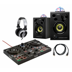 Hercules DJ Controller Inpulse 200 Party Set