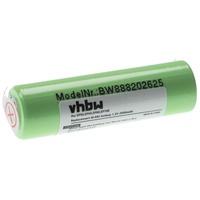 vhbw Akku kompatibel mit Braun EP100, EP50, EP60, EP80, Exact Power Rasierer Haarschneider (2500mAh, 1,2V, NiMH)