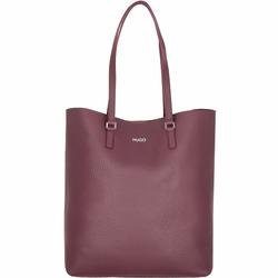 Hugo Downtown Shopper Tasche Leder 32 cm open red