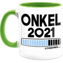 Shirtracer Tasse Onkel loading 2021 - Tasse für Onkel - Tasse zweifarbig, Keramik
