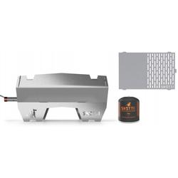 SKOTTI OUTDOOR Gasgrill inkl. gratis Tasche + PLANCHA Grillplatte + GAS 500g