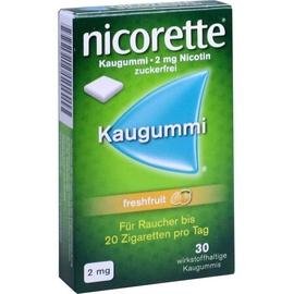 Nicorette Freshfruit 2 mg Kaugummi 30 St.