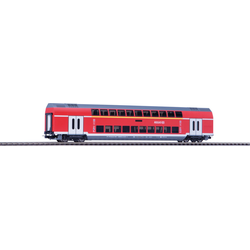 PIKO Personenwagen Doppelstockwagen 1./2. Klasse DB Regio, (58804), Spur H0