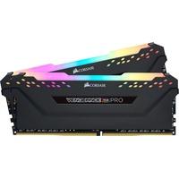 Corsair Vengeance RGB PRO 32GB (2x16GB) DDR4 3200MHz C16 XMP 2.0 Enthusiast RGB LED-Beleuchtung Speicherkit - Schwarz