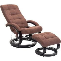 HOMCOM Massagesessel mit Wärmefunktion 86 x 66 x 115 cm (LxBxH)   TV Sessel Relaxsessel Fernsehsessel Massagestuhl