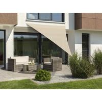 Schneider Schirme Lanzarote dreieckig 400 x 400 x 300 cm natur