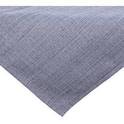 matches21 HOME & HOBBY Tischdecke Outdoor Tischdecken Gartentischdecken wetterfest 90x90 cm (1-tlg) grau