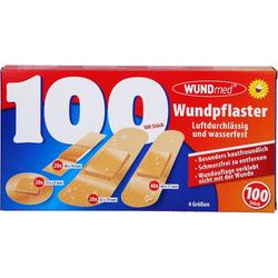 WUNDPFLASTER luftdurchlässig+wasserfest 4 Größen 100 St.