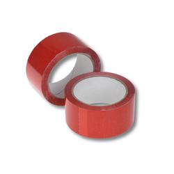 Klebeband Packband PP Acrylatkleber geräuscharm 50mm/66m, rot