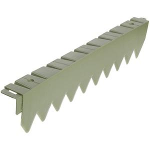 bellissa Rasenkante Comfort - ohne Rand -Kunststoff in Grün - 7123 - Flexibel, radiusfrei formbar und befahrbar - 50 x 5 x 11 cm, Nutzlänge 10 m
