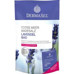 DermaSel Totes Meer Badesalz Lavendel Bad