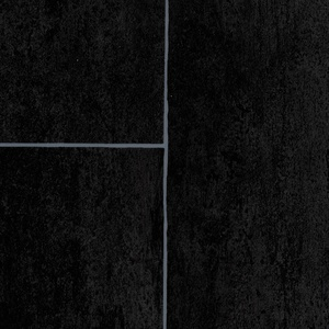 ilima Vinylboden PVC Fliesenoptik anthrazit schwarz 400 cm breit