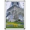 Franken BS0702 Bilder Wechselrahmen Papierformat: DIN A3 (B x H x T) 32.7 x 45 x 1.2cm Silber