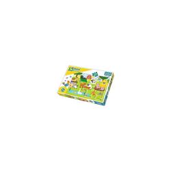 Trefl Puzzle Maxi Puzzle 15 Teile - Bauernhof, Puzzleteile