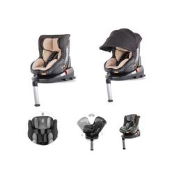 Chipolino Autokindersitz Kindersitz Toledo Gruppe 0+/1, 10.1 kg, (0 - 18 kg) mit Isofix, Sitz drehbar