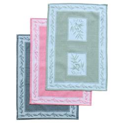 matches21 HOME & HOBBY Geschirrtuch Geschirrtuch Oliven Motiv verschiedene Farben 3er Set 50x70 cm, (3-tlg) bunt