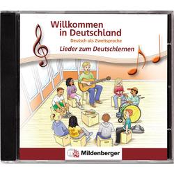 Willkommen in Deutschland - Lieder zum Deutschlernen CD