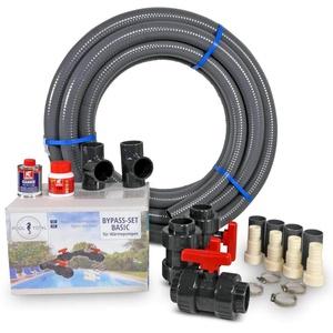 POOL Total Bypass-Set Complete für Wärmepumpen