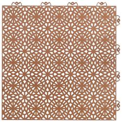 Bergo Flooring Terrassenplatten XL terrakotta, 38x38 cm, Klickfliesen 2m²