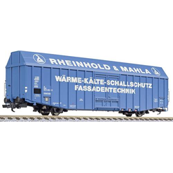 Liliput L235813 H0 Großraum-Güterwagen Hbbks  Rheingold & Mahla  der DB Rheingold & Mahla