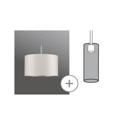 Paulmann Tessa 60351 Lampenschirm Creme