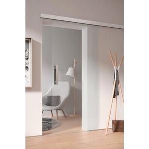 Glasschiebetür Toja, 00/01, 94,0x206,0 cm weiß
