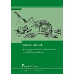 Sagen aus Lappland als Buch von