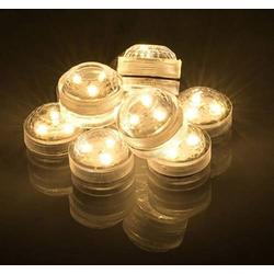 LED-Teelichter ww 2er transp.