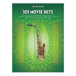 101 Movie Hits For Alto Saxophone - Buch