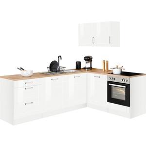HELD MÖBEL Winkelküche Tinnum, ohne E-Geräte, Stellbreite 240/180 cm weiß