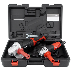 FLEX Winkelschleifer-Set L2100 (Ø 230 mm) + L810 (Ø 125 mm) im Koffer - 453.978