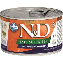 FARMINA N&D PUMPKIN Lamb, Pumpkin & Blueberry Adult Mini 140 g
