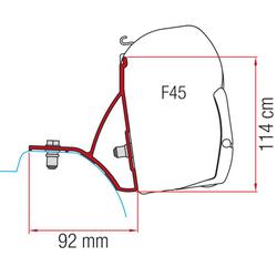 Kit Renault Trafic ab 2015 für Fiamma Markise F45