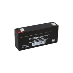 Multipower Multipower Blei-Akku MP3,3-6 Pb 6V / 3,3Ah Bleiakkus