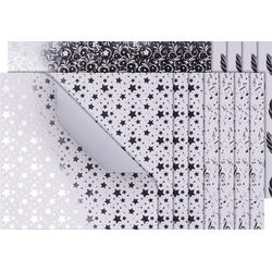 VBS Kraftpapier Silver Foil, 20 cm x 20 cm
