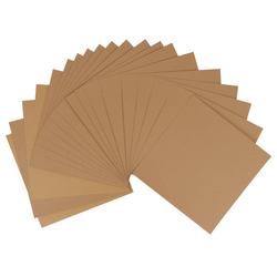 JOY CRAFTS Kraftpapier Kraftpapier Quadratisch 30,5 x 30,5 cm, 20 Blatt