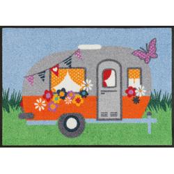 Fußmatte Happy Camping Kleen-Tex