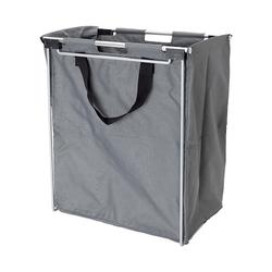 Beslag Design Handdy Wäschekorb Silber