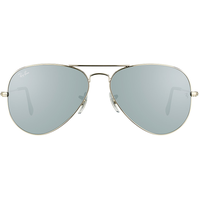 Ray Ban Aviator Flash Lenses RB3025 W3277 58-14 polished silver/silver